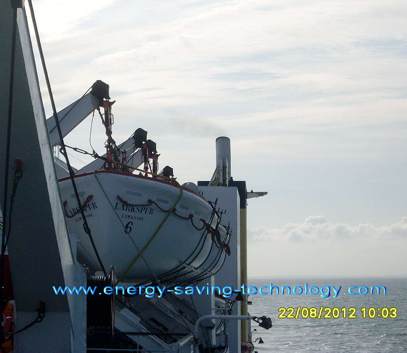 reduction of smoke in shipboard diesel engines fuel saving ship's