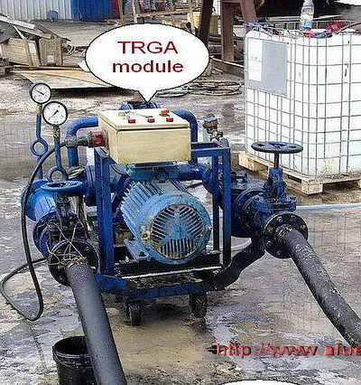 hydrodynamic module homogenizer dispersant TRGA - cheap, efficient and extremely reliable