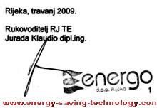 saving heating oil equipment technology TRGA