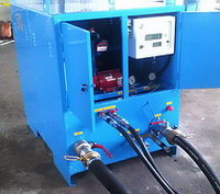 homogenizer for mixing diesel fuel with biodiesel or oil, production multicomponent fuels
